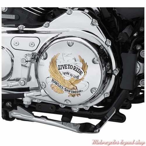 Trappe d'embrayage Live to Ride Harley-Davidson, pour modèles XR et XL, visuel, 25127-04A