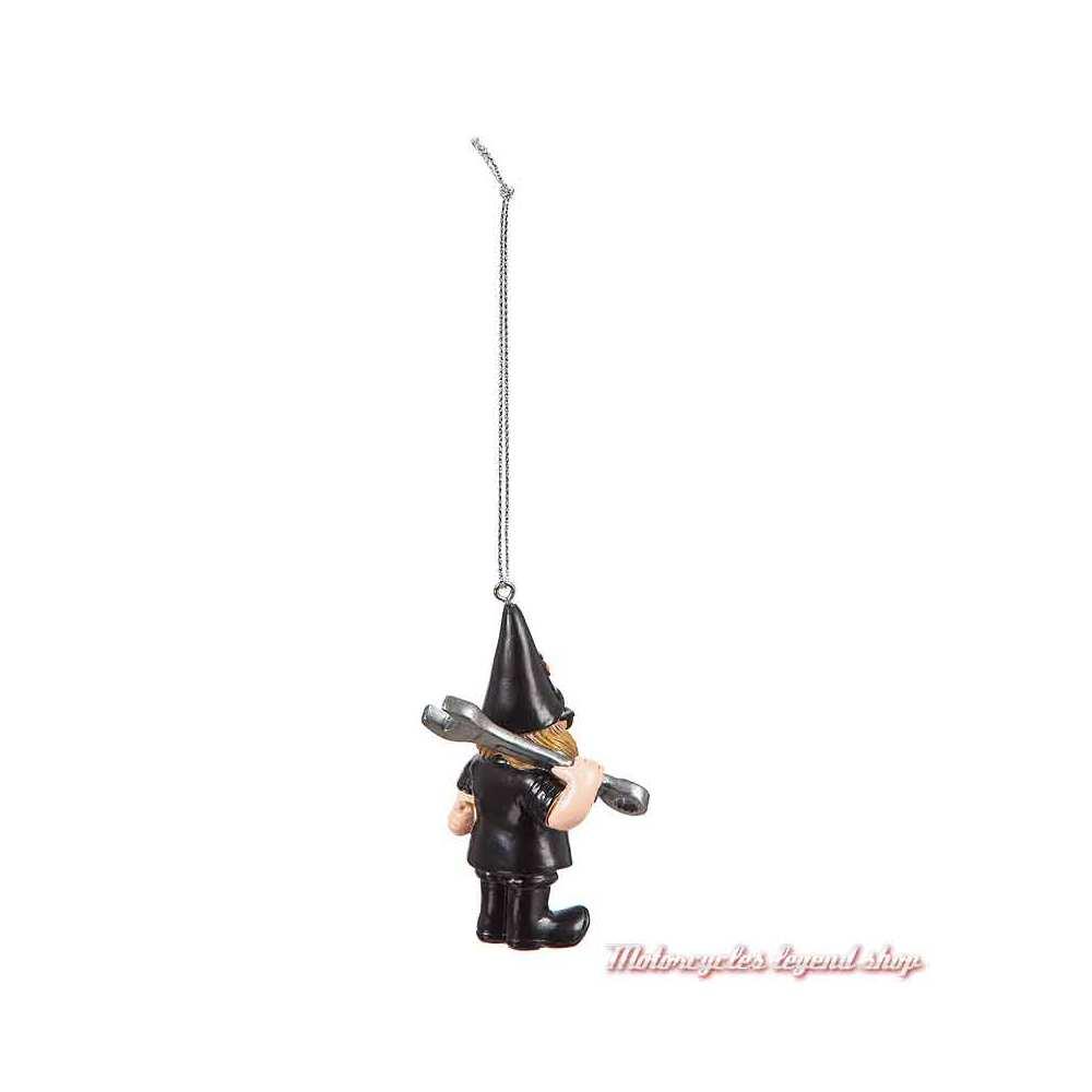 Naine de jardin Mechanic à suspendre Harley-Davidson 7.5 cm, dos, 3OT4902GMD