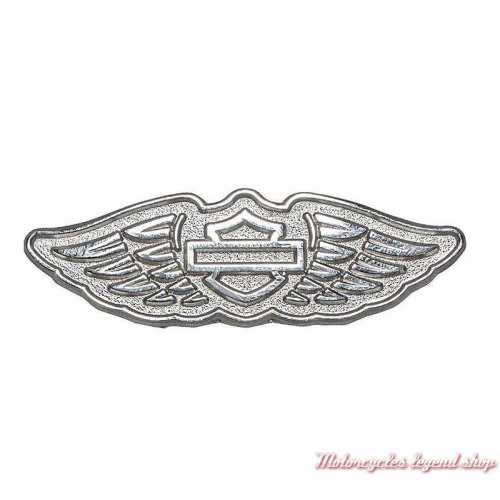 Pin's Winged Script Harley-Davidson femme, argenté, P348064