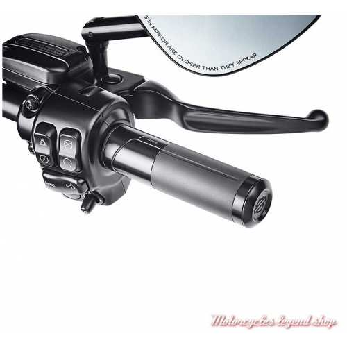 Poignées noires by Rizoma Harley-Davidson, aluminium, visuel, 56100479