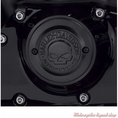 Cache carter de distribution Willie G. Harley-Davidson noir, visuel, 25600089