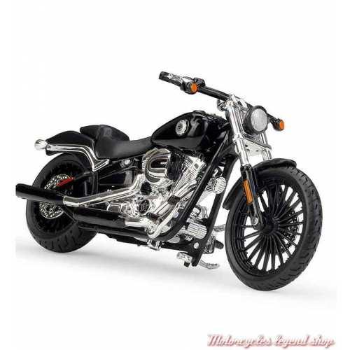Miniature Breakout 2016 noir Harley-Davidson, échelle 1/18