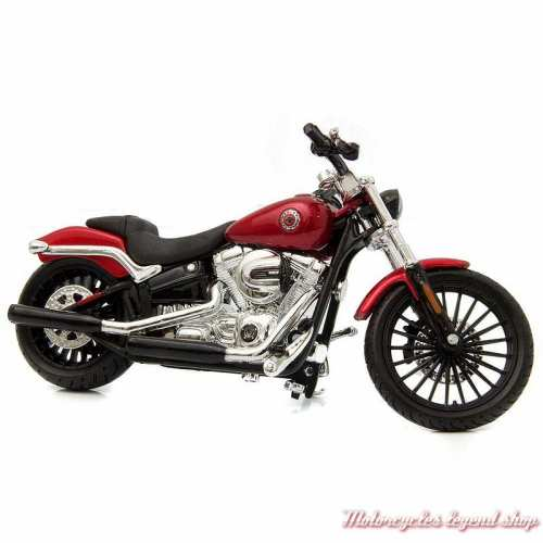 Miniature Breakout 2016 rouge Harley-Davidson, échelle 1/18
