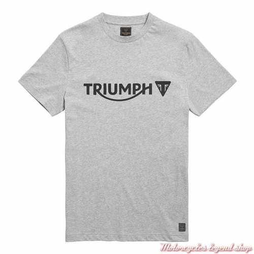Tee-shirt Cartmel Grey Marl homme Triumph