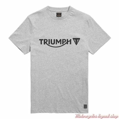 Tee-shirt Cartmel Grey Marl homme Triumph