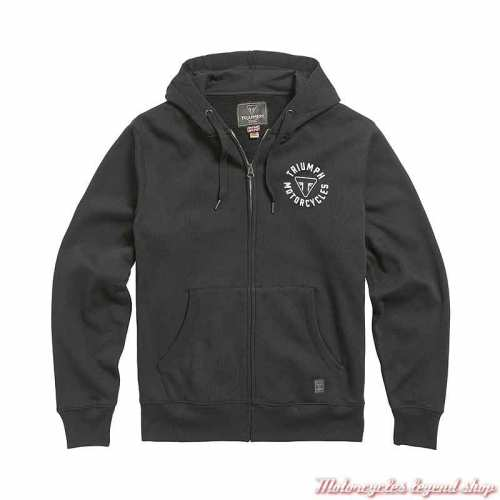 Sweatshirt Digby Jet Black homme Triumph