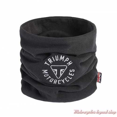Tour de cou Longstone Triumph, noir, logo brodé, polyester, MTUS21000