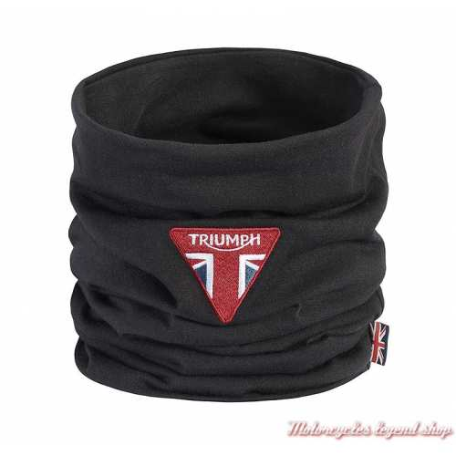 Tour de cou Canon Triumph, noir, logo brodé, polyester, MTUS21001