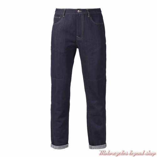 Jeans Craner Triumph homme slim, bleu indigo, homologué CE, MDJS21107