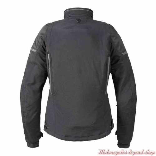 Blouson textile Hythe Triumph homme noir, dos, MLTS21310