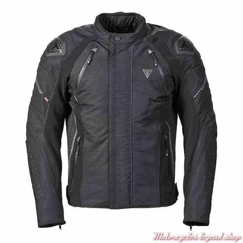 Blouson textile Tritech Triple Triumph homme, noir, respirant, MTPS20532