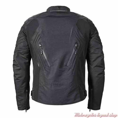 Blouson textile Tritech Triple Triumph homme, noir, respirant, dos, MTPS20532