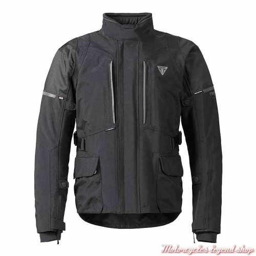 Blouson textile Tritech Leith Triumph homme, noir, MTPS21304