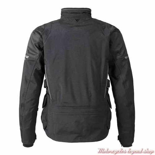 Blouson textile Tritech Leith Triumph homme, noir, dos, MTPS21304