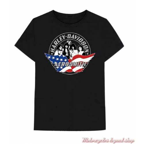 Tee-shirt Aero Force One Harley-Davidson homme