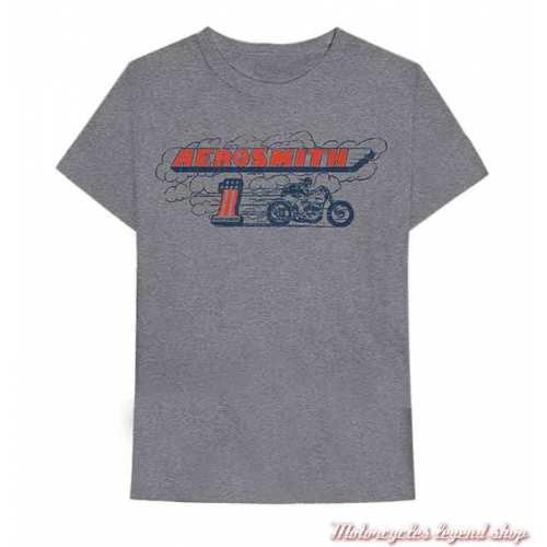 Tee-shirt Burnout Harley-Davidson homme