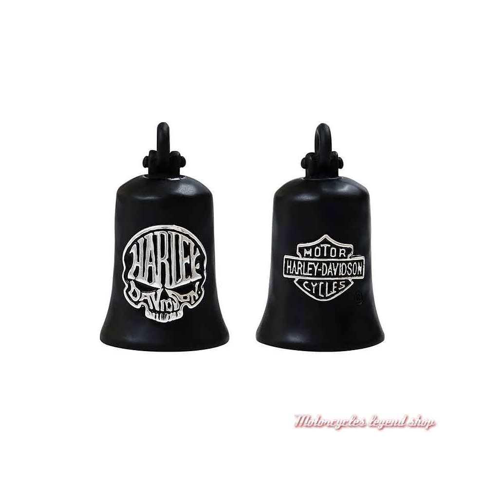 Clochette Calavera Skull noir mat Harley-Davidson, HRB103