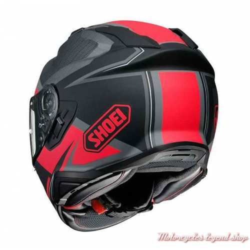 Casque intégral GT-Air 2 Affair TC-1 Shoei, noir, rouge, dos