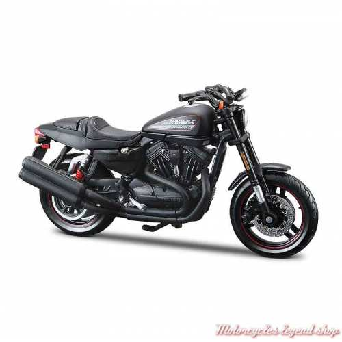 Miniature XR 1200X 2011 noir Harley-Davidson, échelle 1/18