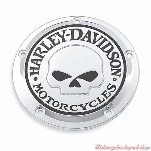 Trappe d'embrayage Skull chrome Harley-Davidson 25441-04A