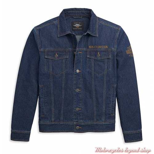 Veste en jean Harley-Davidson