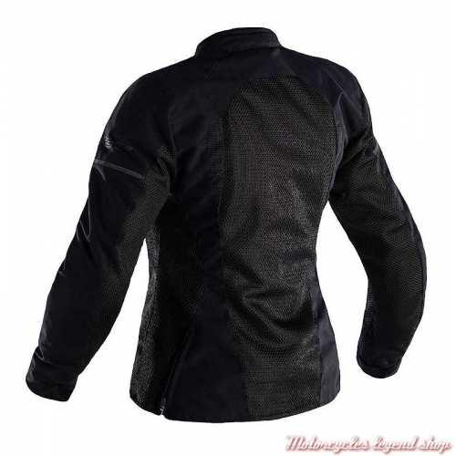 Blouson été textile F-Lite RST femme, noir, léger, CE, dos, 102575BLK