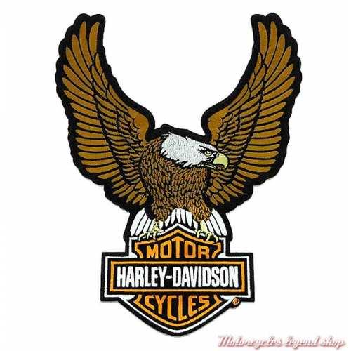 Patch Aigle Medium Harley-Davidson 9 cm, brodé, à coudre, 8011611