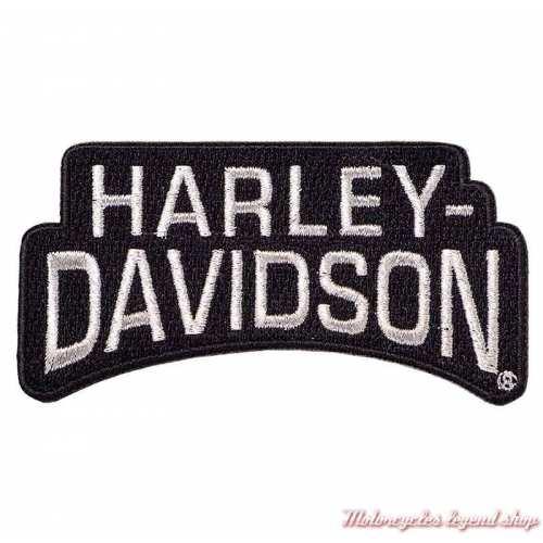 Patch réfléchissant Name Harley-Davidson à coudre, 10 x 5 cm, 8011666