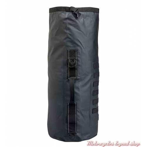 Sac Exfil-65 Biltwell noir, pvc, étanche, pour sissy bar, 3516-0342-2