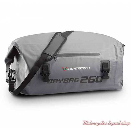 Sac étanche Drybag gris 260 Sw-Motech, 26 l, gris noir, 500D, BC.WPB.00.020.10000