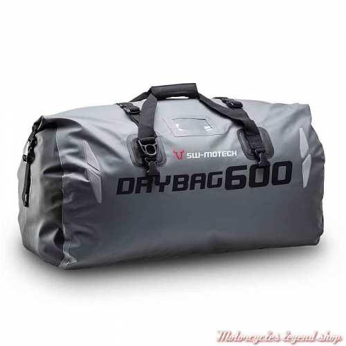Sac étanche Drybag gris 600 Sw-Motech, 60 litres, 500D, BC.WPB.00.002.10001