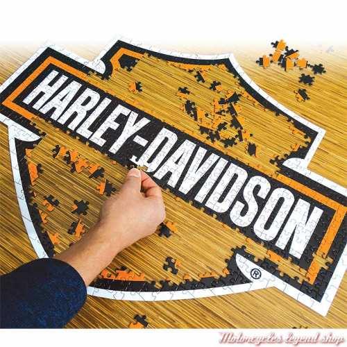 Puzzle Bar & Shield Harley-Davidson 571 pièces, visuel, 6066