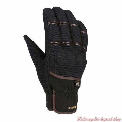 Gants textile Zeek homme Segura, noir, mi saison, waterproof, amara, SGM523