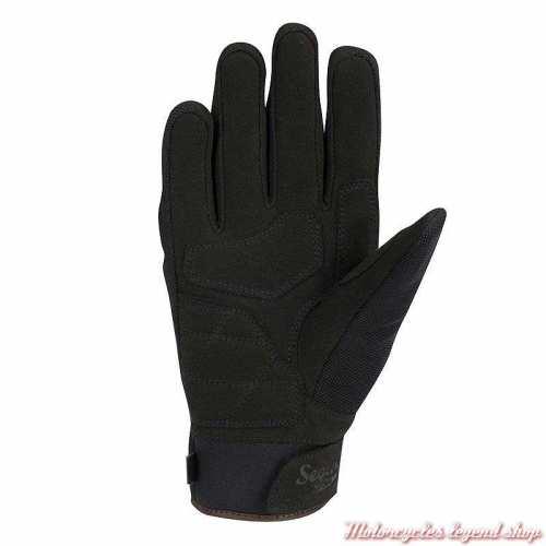 Gants textile Zeek homme Segura, noir, mi saison, waterproof, amara, paume, SGM523