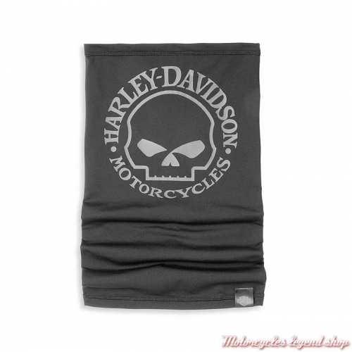 Tube Willie G Skull Harley-Davidson, noir, polyester, polaire, 97125-22VX
