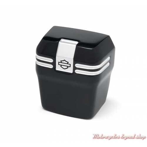 Cache Avertisseur Empire Black Machine Harley-Davidson 61301177