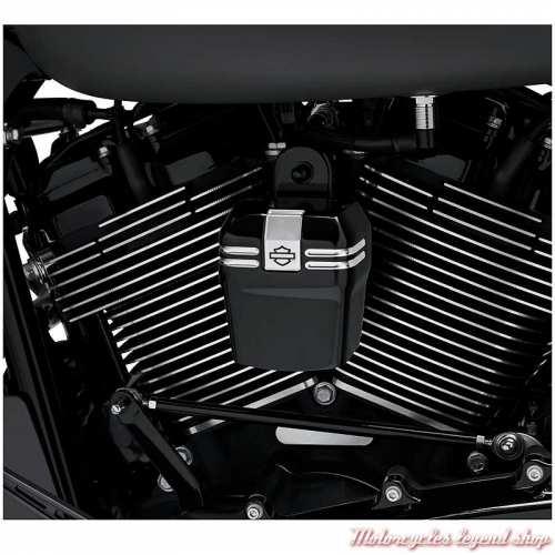 Cache Avertisseur Empire Black Machine Harley-Davidson, visuel, 61301177