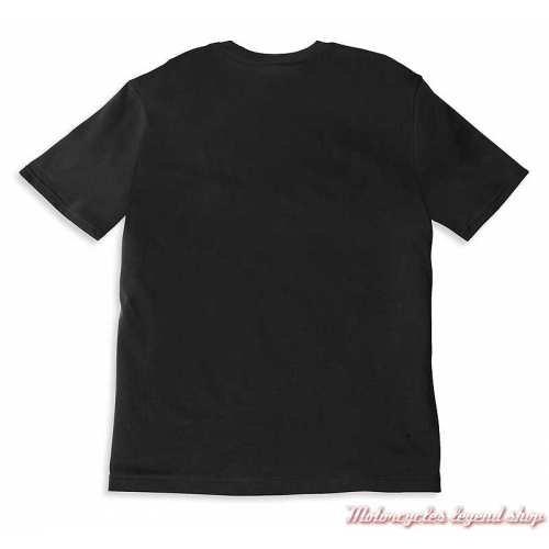 Tee-shirt Racer Motorcycle Co Harley-Davidson homme, noir, manches courtes, coton, dos, 96056-22VM