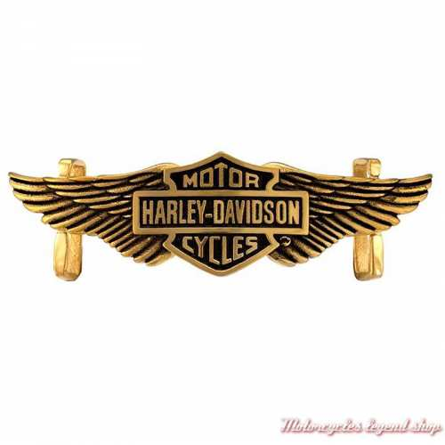 Plaque Gold B&S Wings Rally Harley-Davidson HSP0131
