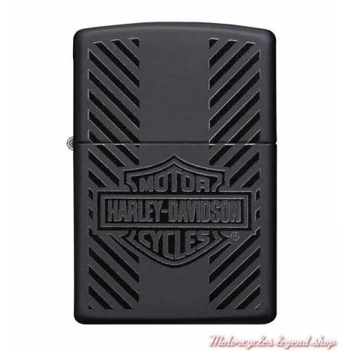 Zippo Bar & Shield Logo Harley-Davidson, noir mat, 60005262