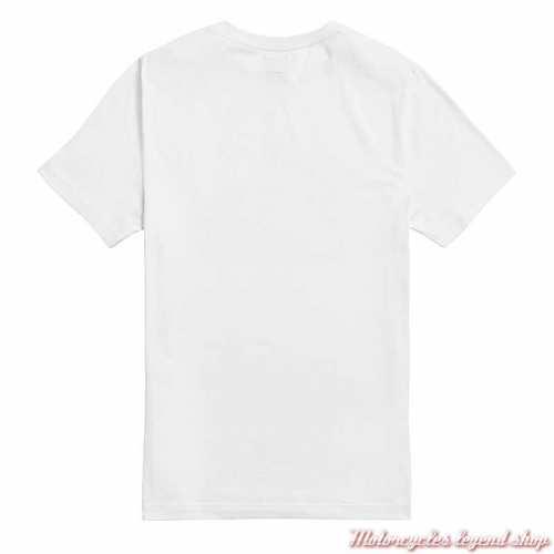 Tee-shirt Helston blanc homme Triumph, manches courtes, coton, dos, MTSS21005