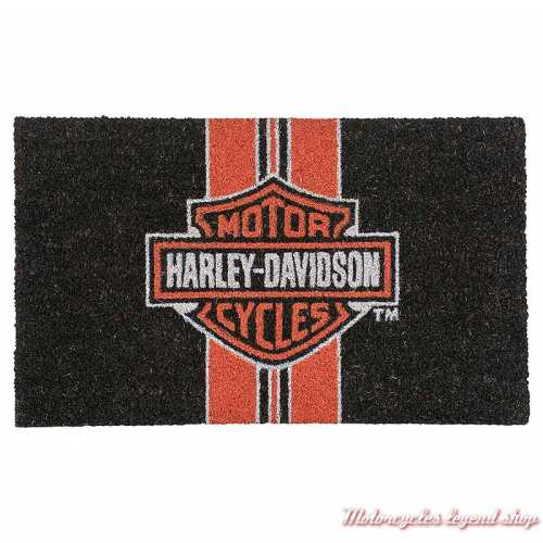 Paillasson Bar & Shield Stripes Harley-Davidson, coco, HDX-99216
