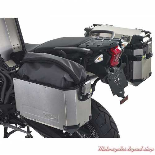 2 Sacs intérieurs pour sacoches alu Expedition Tiger Triumph, nylon, imperméable, gris, noir, visuel, A9500519