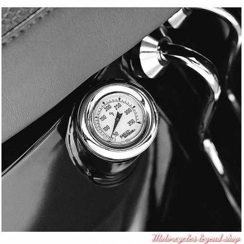 Jauge à huile Harley-Davidson, thermomètre, pour Softail, visuel, 62896-00B