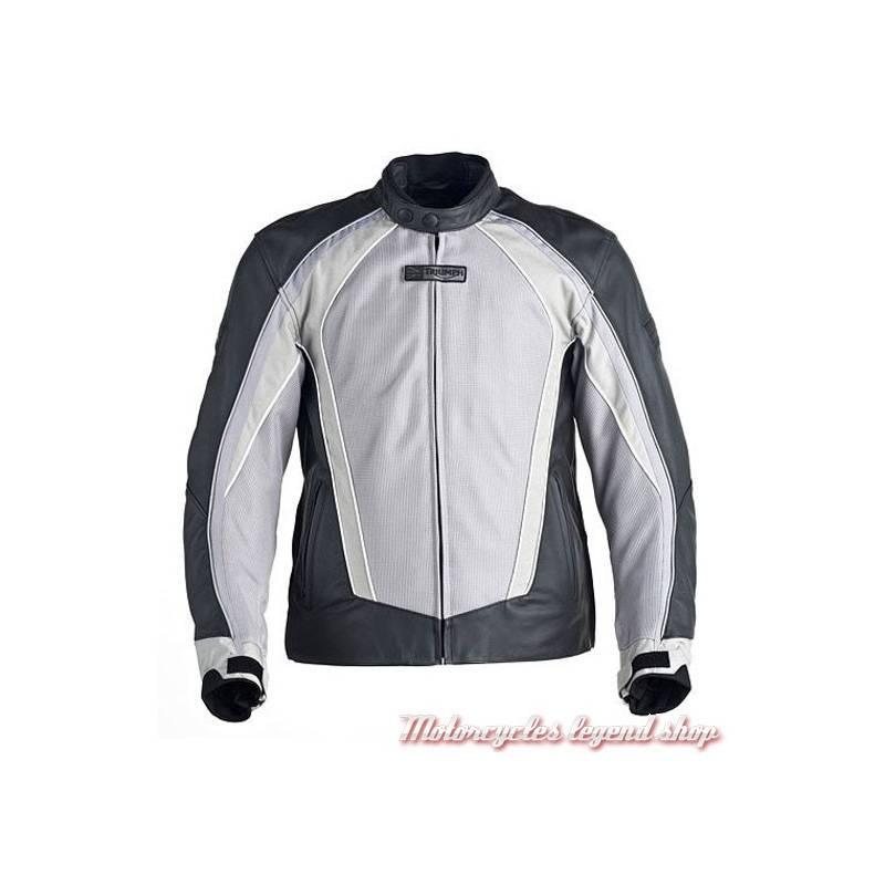 4bc8a4d94516 Blouson cuir Falcon Triumph - Motorcycles Legend shop