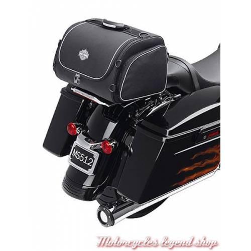 Sac de nuit, 28 litres, zippé, noir, spandex, Harley-Davidson 93300005