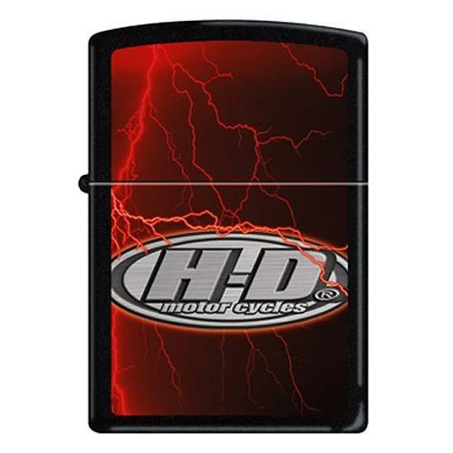 Zippo essence H-D Flash, métal éclairs foudroyants, 810814