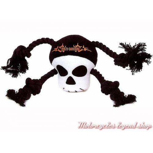 Skull corde à mordiller pour chien, polyester, Harley-Davidson H8400-H-P23DOG