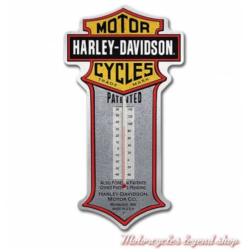 Thermomètre Patent Bar & Shield Harley-Davidson