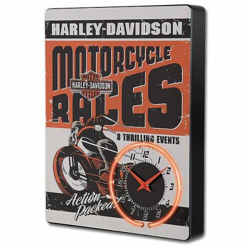 Horloge Néon Race Day Harley-Davidson